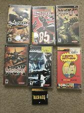 Sony PSP Game/UMD Lot (Rengoku 1&2, Coded Arms, NFL Street)
