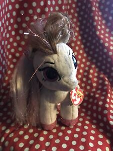 TY Beanie Boos Cinnamon Spotted Pony Plush Stuffed Animal. Tag Imperfections.