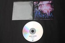 DAVE GAHAN MUTE PROMO CD KINGDOM PCDMUTE393 5 TRACK REMIXES DEPECHE MODE RARE