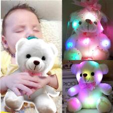 Cute Baby Plush Toy Newborn Soft Dolls Led Lights Kids Boys/Girls Xmas Gifts New