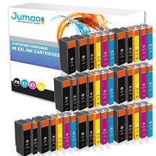 40 cartouches Jumao compatibles pour Canon PIXMA MG5250 5350 6150 8150 8250 6250