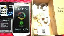 SAMSUNG GALAXY S4 i9505 4G BIANCO 100% ORIGINALE+SCATOLA + BATTERIA + ACCESSORI