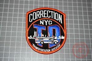 NYC Correction Transportation Division Patch (B-NY)
