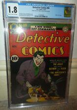 Detective comics 69 Batman Joker story Classic cover 1942 1.8 CGC golden age