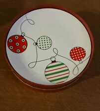 Palms Casino Christmas Ornament Design Plates Christmas Holiday Plates Set of 4