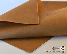 Camel Merino Wool Felt, Felt Fabric Yardage, Penny Rug, Candle Mat, Craft Felt