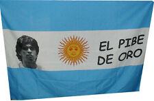 bandiera napoli  forza azzurri  100x150 cm diego maradona dios
