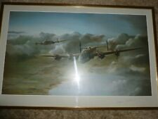 More details for world war ii aviation print halifax bombers in flight