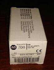 NEW Allen-Bradley 700-HA33Z24-3-4 Ser-D RELAY Ice Cube, 11-Pin, 3PDT, 10A, 24VD