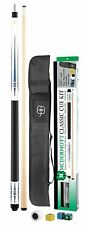 McDermott Classic Pool Cue Kit Pool Billiards KIT5 White Cue w/ FREE Shipping
