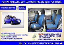 Coprisedili fiat Panda 2003>2011 fodere copri sedili auto su misura set foderine