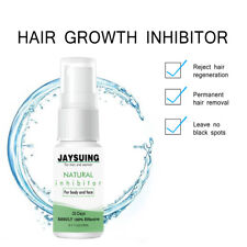 New 100% Natural Permanent Hair Removal Spray Stop Hair Growth Inhibitor Remover