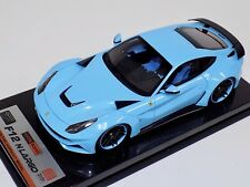 1/18 APM Ferrari F12 N-Largo Novitec Rosso Baby Blue Carbon Base BBR MR One off