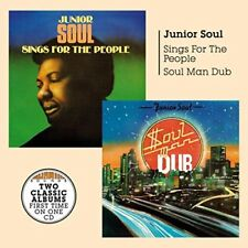 Junior Soul - Soul Man Dub + Sings For The People [CD]
