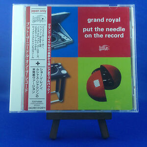 GRAND ROYAL: Put The Needle On The Record (OOP ULTRA RARE JAPAN ONLY 1999 CD)