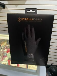 IntelliNetix Wearable Vibration Therapy Gloves Arthritis Relief Size Medium NEW