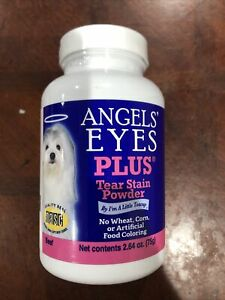 Angel's Eyes Beef Formula Plus Eye Care Supplies for Dogs, 75gm Exp 08/2022