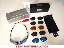 Oakley X Metal XX Sunglasses Lot includes Vault - 6 Pair of Lenses - Torx Tool