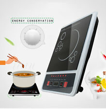 Portable Electric Induction Cooker Cooktop Oven Cookware Burner Countertop New