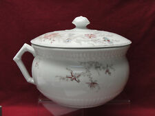 JOHNSON BROTHERS Ironstone China - WILDFLOWERS Pattern - CHAMBER POT with LID