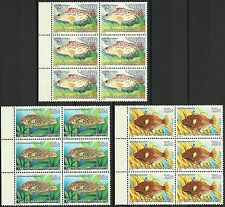 Cocos Islands Poissons Mérou Baliste Grouper Wrasse Fishes Fische ** 1980 20€