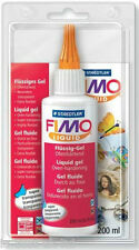 NEW FIMO LIQUID DECO / DEKO GEL FOR FIMO POLYMER CLAY 200ml LARGE BOTTLE