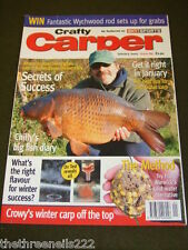 CRAFTY CARPER - SECRETS OF SUCCESS -  JAN 2005 # 89