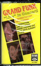 LIVE IN CONCERT - GRAND FUNK (CASSETTE) BRAND NEW FACTORY  SEALED