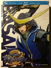SENGOKU BASARA: Samurai Kings 2 - Limited Edition - MINT NEW DVD/ BLU-RAY SET!!