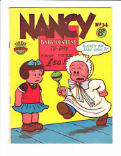 Nancy  No.14    :1950's:    : Baby Contest Cover! :    : Australian Copy :