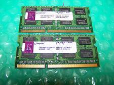 4GB de memoria KINGSTON 1066MHz DDR3 PC3-8500S Portátil (2x 2GB par)