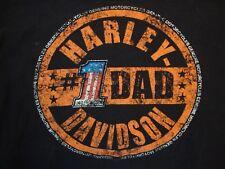 Harley-Davidson Motorcycles Beaumont, Texas Souvenir Black T Shirt Size L