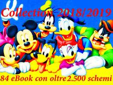 OLTRE 2.500 SCHEMI PUNTO CROCE DISNEY in 84 EBOOK + MEGA REGALO CROSS STITCH DMC