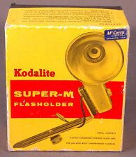 Vtg Kodalite Super-M Flashholder-No 751 Brown-Box-Photographic Equiptment-Camera