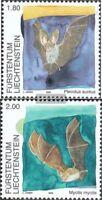 Liechtenstein 1389-1390 (kompl.Ausg.) gestempelt 2005 Fledermäuse