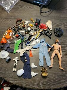 Mego Action Jackson and other accessories