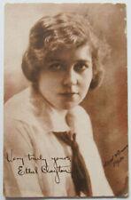 Ethel Clayton Postcard Silent Movie Star Antique