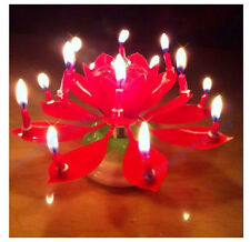 NEW The ORIGINAL Amazing Happy Birthday Candle - RED, FREE SHIPING