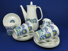Vintage Mid Century Modern Figgjo Flint Tor Viking Norwegian Coffee Set