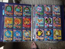 1999 Vintage Burger King Pokemon Complete Set of 151 cards in binder w Charizard