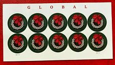 US Stamps SC#4936a Global Imperforate Pane of 10 CV:$38