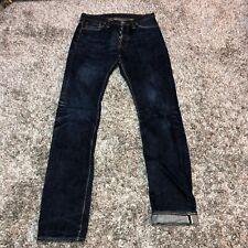 The Flat Head Self Edge SE05BSP Selvedge Distressed Japan Raw Denim Jeans 31x34