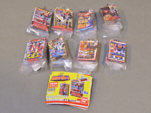 Power Rangers Super Sentai DX Robo Package Charm All 8 types set Capsule toy Fed
