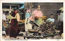 B86424 vegetable vendors philippine islands women types folklore  philippines