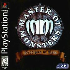 Master of Monsters: Disciples of Gaia (Sony PlayStation 1, 1998) Complete RARE!