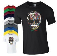Stan Lee Marvel Superhero T-Shirt Head 1922-2018 Spiderman Avengers Mens Top