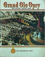 GRAND OLE OPRY 50TH ANNIVERSARY BOOK, 1975 (MANY FULL-PAGE COLOR PHOTOS