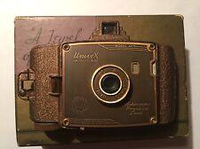 RARE 1938 UNIVERSAL UNIVEX AF-5 BRONZE, Folding Pocket Soldiers Camera Miniature
