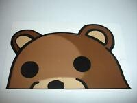 Meme Bear Sticker Decal Funny JDM 4chan 9gag - 7CM FACING LEFT
