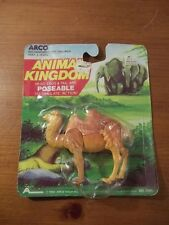 VINTAGE 1983 ARCO TOYS ANIMAL KINGDOM POSEABLE CAMEL FIGURE TOY NEW NOAH'S ARK